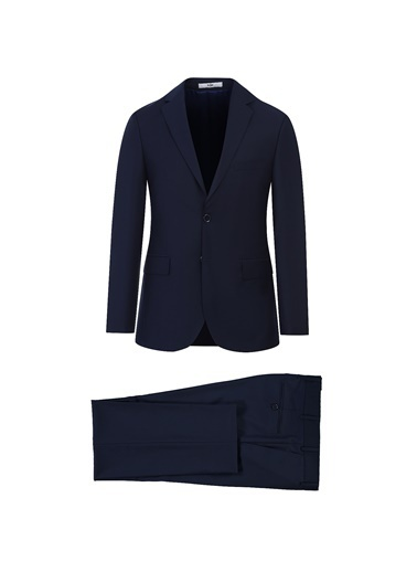 Kiğılı Slim Fit Takım Elbise Lacivert